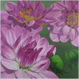 Pink Dahlias by Diana Ranstrom
