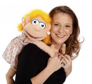 Lynn Trefzger with Chloe