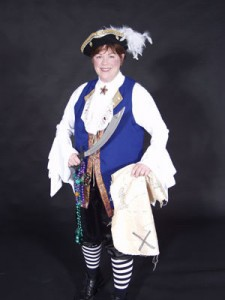 Barnacle Bess the Pirate Lady