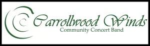 Carrollwood Winds logo with frame