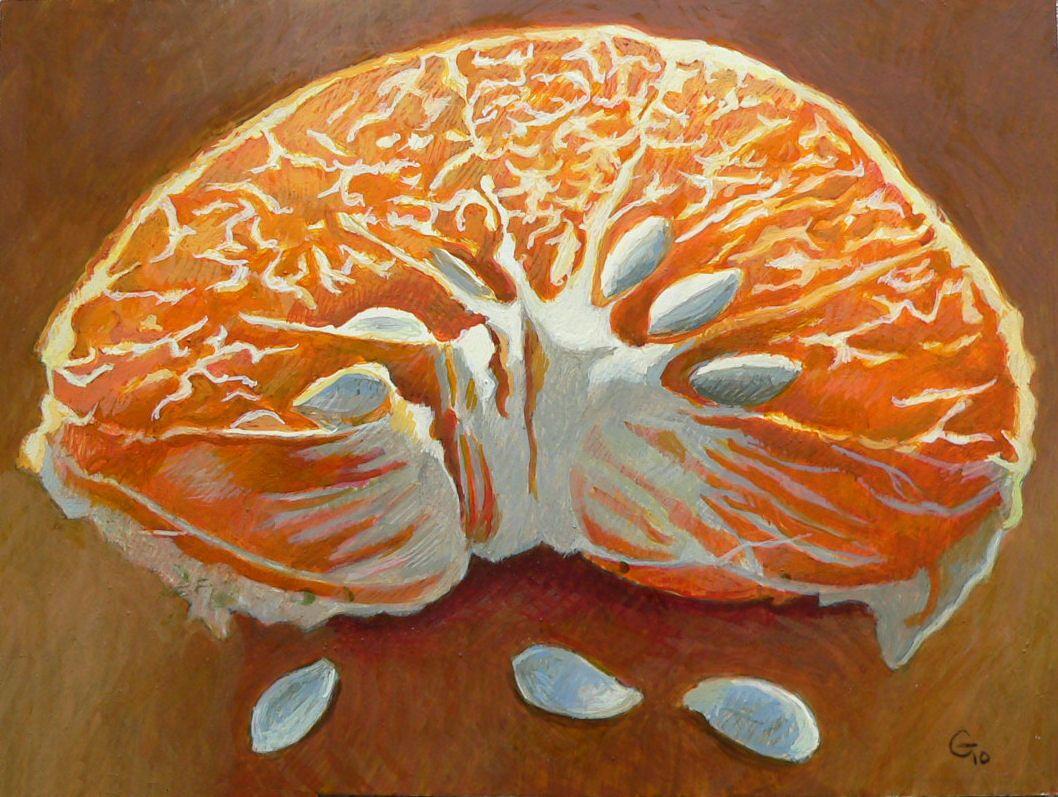 """""""Genesis Orange"""" by Gainor Roberts"""
