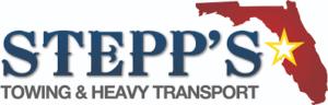 Stepps Towing & Heavy Transport Logo