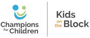 Champions for Children / Kids on the Block logo