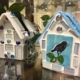 2018 Birdhouse Planters by Diana Davidson