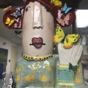 Madame Butterfly by Debbie Hofer