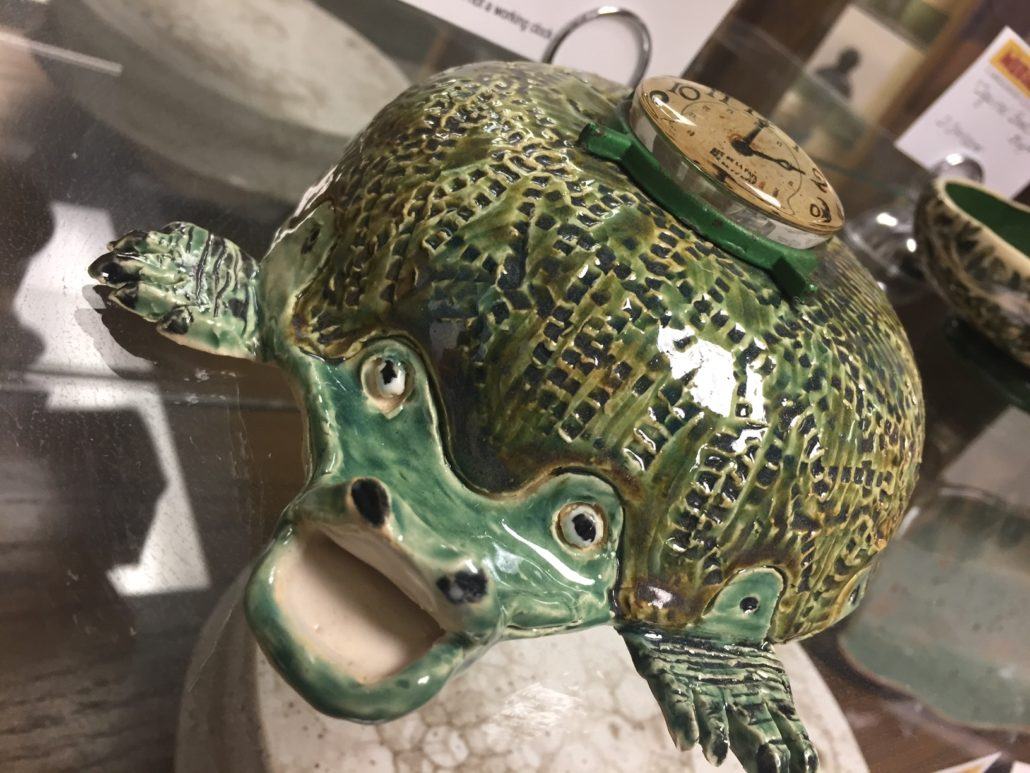 Hand Building Class - Ticktock the Crococlock by Debbie Hofer