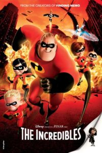 Afternoon Movie - The Incredibles - poster art