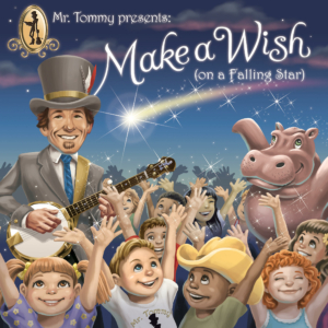 Mr Tommy CD Cover Make a Wish on a Falling Star