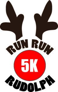 Run Run Rudolph 5K logo