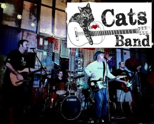 I Heart Cats Band promo photo SHAMc with logo