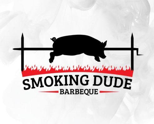 Smoking Dude Logo