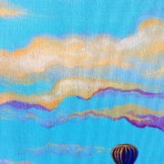"""Skyscape I Detail A"" by Sydney Millett"