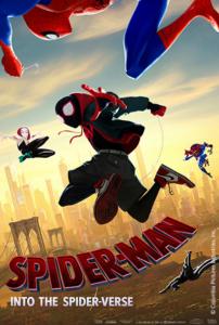 Spiderman into the Spider-Verse logo