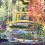 Monets Garden Bridge by Peter Wolf - HM
