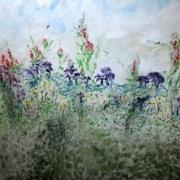 Field of Flowers by Hedy Isen