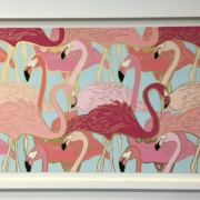 Flamingo Flock by Britt Ford