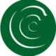 CCC on green circle background
