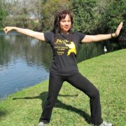 Tai-Chi instructor Suzanne Chen