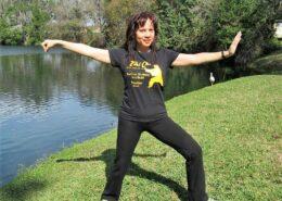 Tai-Chi instructor Suzanne Chen