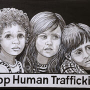 Stop Human Trafficking by Jennifer Thomas Houdeshell