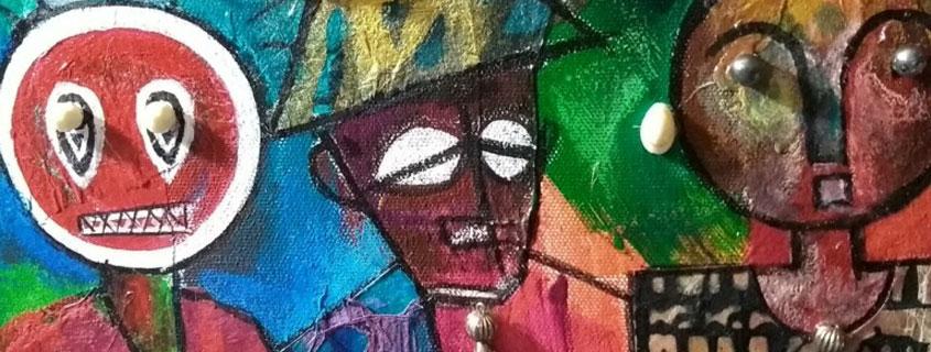 Soul Men by Benard Brooks - mixed media - 845x321 profile cover photo
