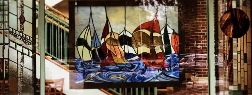Stained Glass art by Bob Marotta