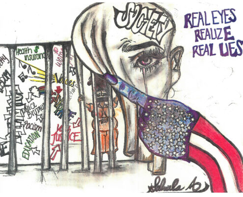 """Real Eyes Realize Real Lies"" by Gabby"