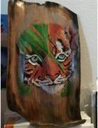 Artwork by Mary Dorsett (Tiger)