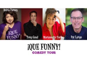 The 2021 Que Funny Comedy Tour
