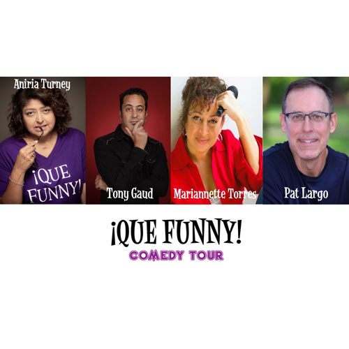 THE ¡QUE FUNNY! Comedy Tour @ Carrollwood Cultural Center (Main Theatre)