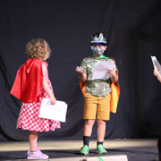 """2021 Summer Camp photos of artwork, activities, and the Show & Share from """"Around the World"""" week."""