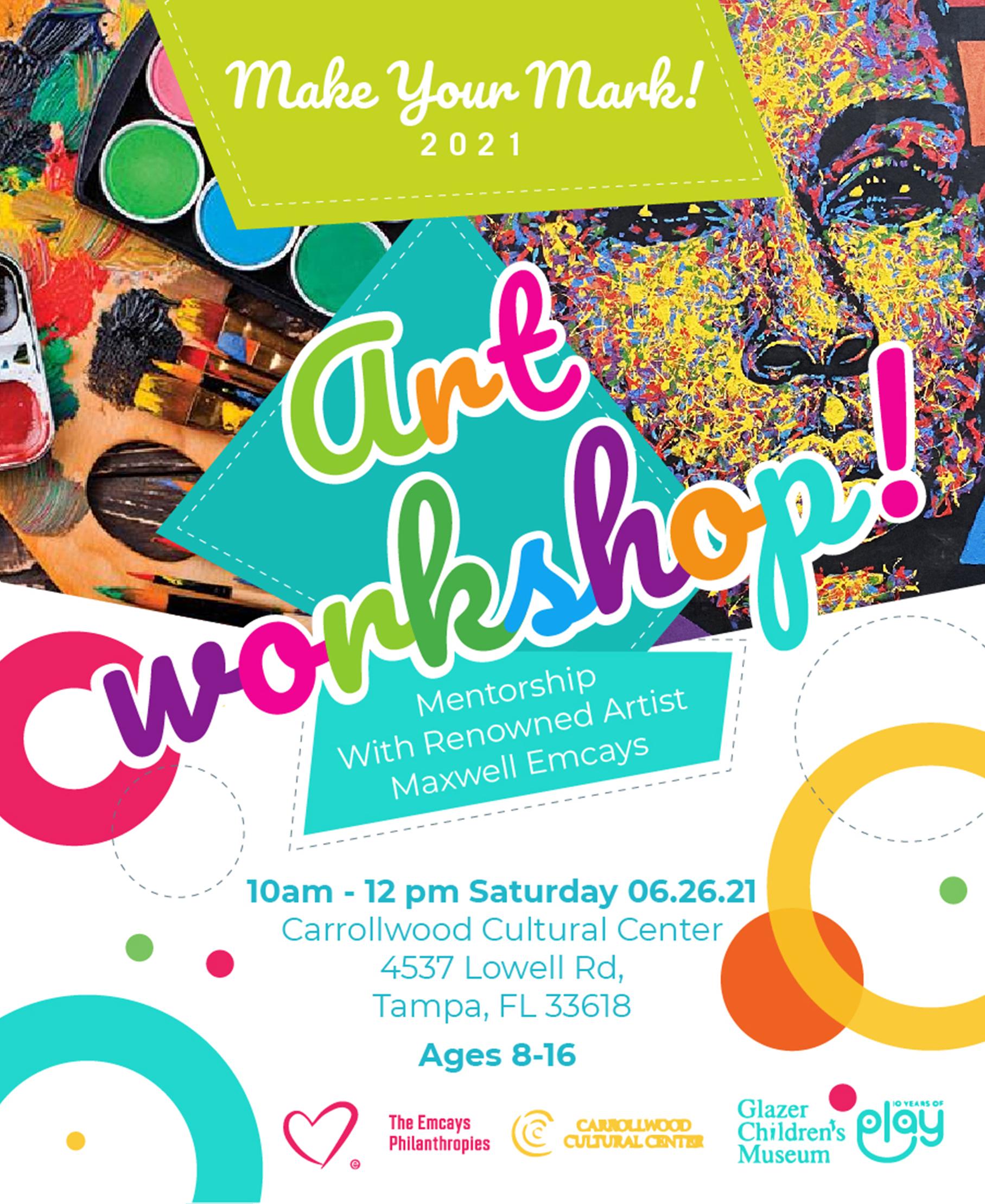 Make Your Mark! Art Workshop