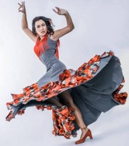 Flamenco Tropical dancer