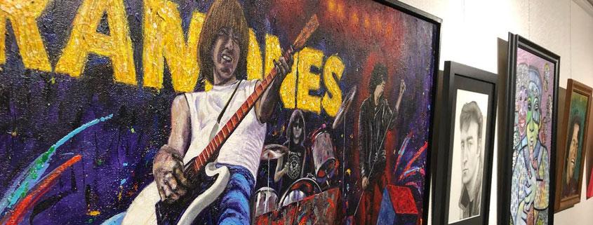 Music Legends Gallery Wall