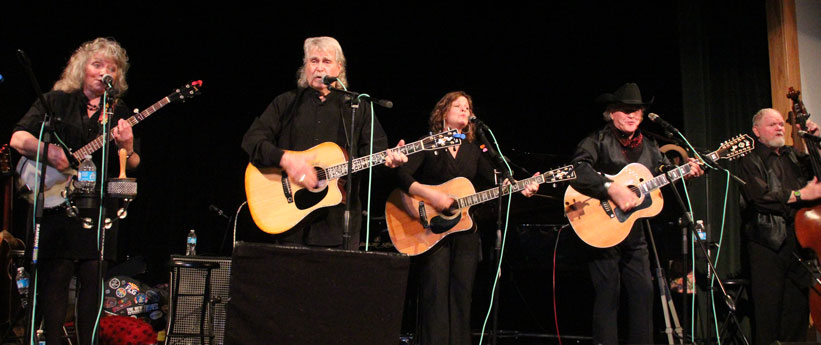 The New Christy Minstrels perform at the Center in January 2012.