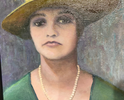EMERGing Artists 1st Place - My Grandmother, Dacota Maphis - by Dacota Maphis