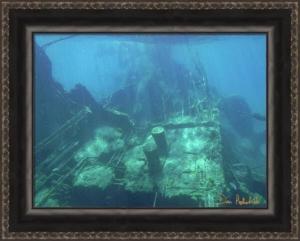 "Image of ""Cement Deck of the Shipwreck Sapona"" by Dan Podsibinski"